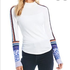 NWT Free People Switch It Up Long Sleeve Thermal
